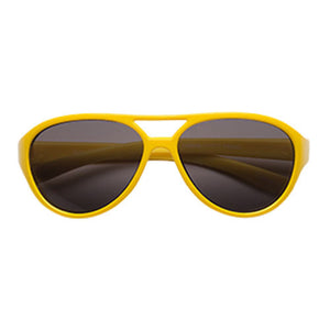 Teeny Tiny Optics Cassidy Aviator Style Toddler Sunglasses Yellow