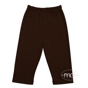 Zuccini Brown Knit Little Boy's Pants