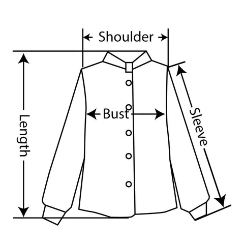 How to measure blouse