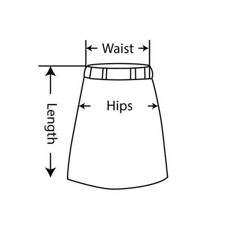 How to measure skirts