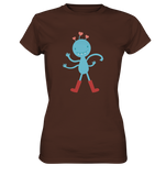 Cute more hand monster - Ladies Premium Shirt