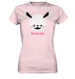 Kawaii Rabbit Ladies T-Shirt - Ladies Premium Shirt