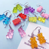 Bear Drop Earring Sweet