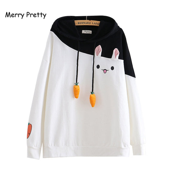 Merry Cute Rabbit Sweatshirt