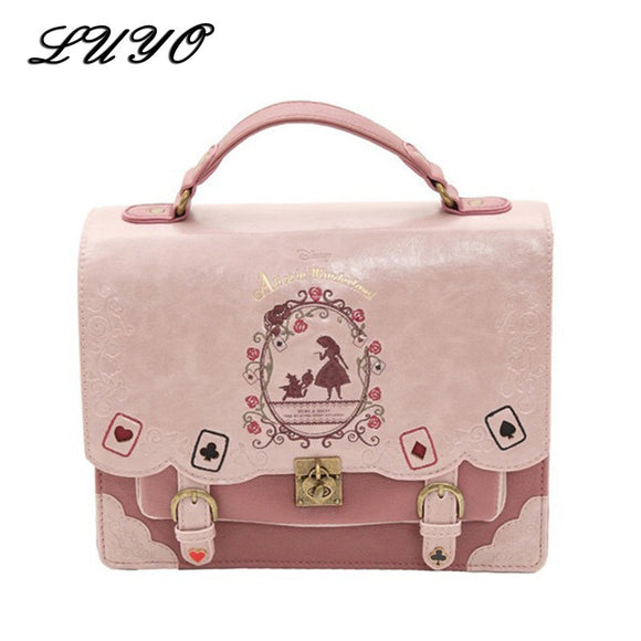 Alice In Wonderland Kawaii Small Backpack