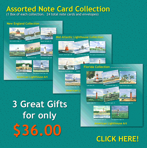 * Lighthouse Note Card Collections