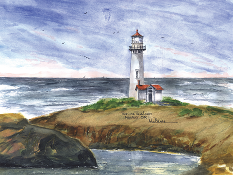 OREGON Lighthouses- See all 6 Lights!