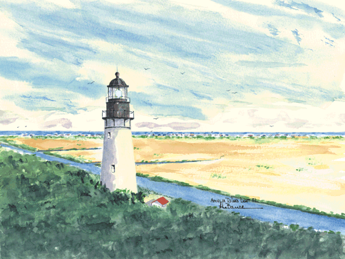 Amelia Island Light A, FL