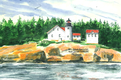 MAINE Lighthouses - See all 12 Lighthouses!