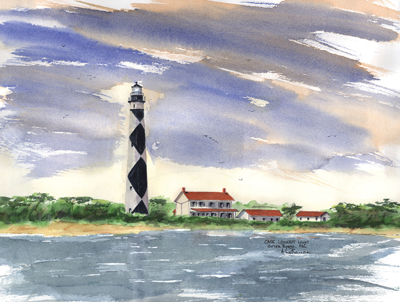 Cape Lookout Light B, NC
