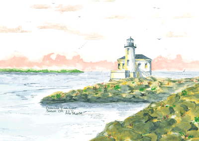 Coquille River Light B, OR