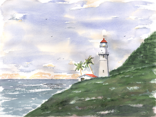 Diamond Head Light A, HI