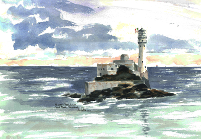 Fastnet Rock Island Light, Ireland