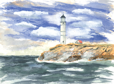 NEW HAMPSHIRE Lighthouses - See all 3 Lighthouses!