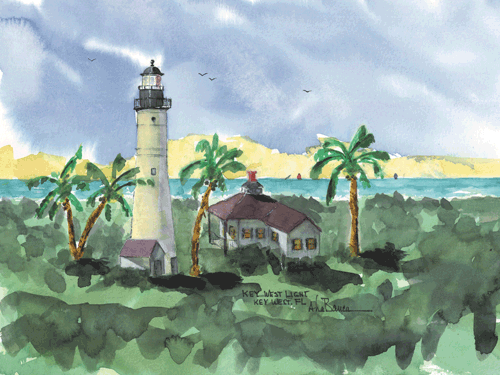 Key West Light, FL