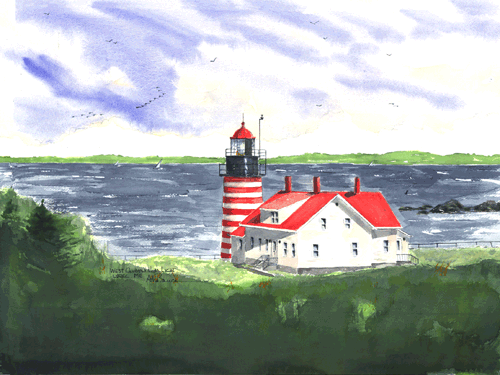 West Quoddy Lighthouse, ME