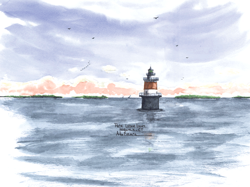 Peck Ledge Light, CT