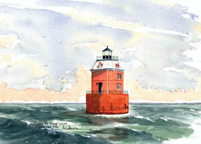 MARYLAND Lighthouses -See both Lighthouses!
