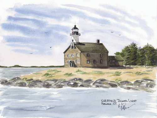Sheffield Island Light A, CT