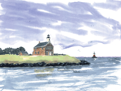 Sheffield Island Light B, CT