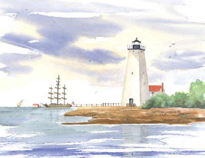 MISSISSIPPI Lighthouses - Click on the Lighthouse for details!