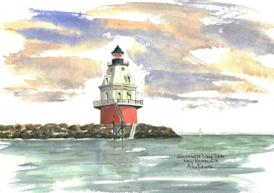 Southwest Ledge Light, CT