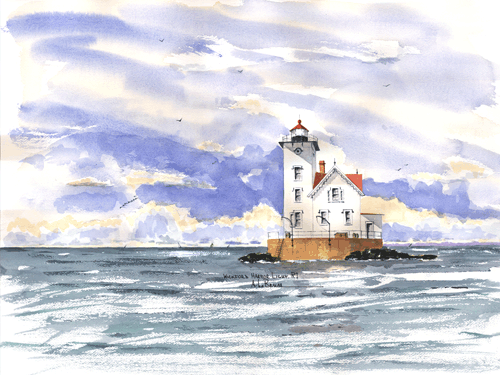 Wickford Harbor Light, RI