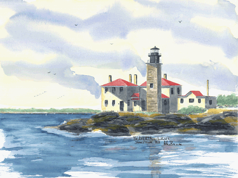 RHODE ISLAND LIGHTHOUSES -  See all 12 Lighthouses!
