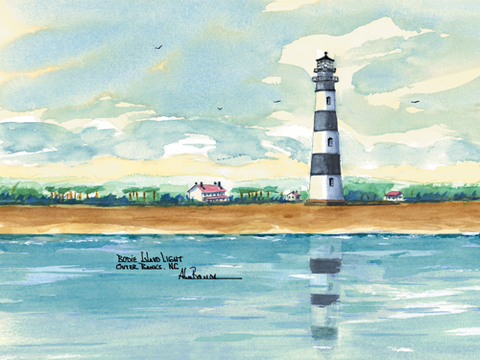 NORTH CAROLINA Lighthouses -See all 8 Lighthouses!