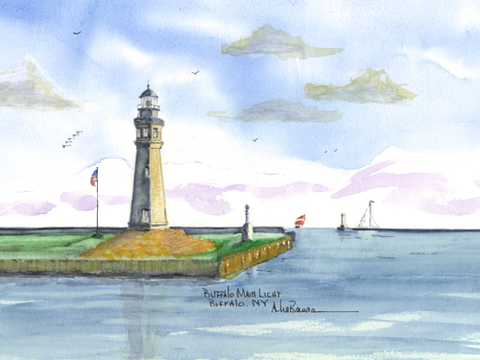 NEW YORK Lighthouses- See all 20 Lighthouses!