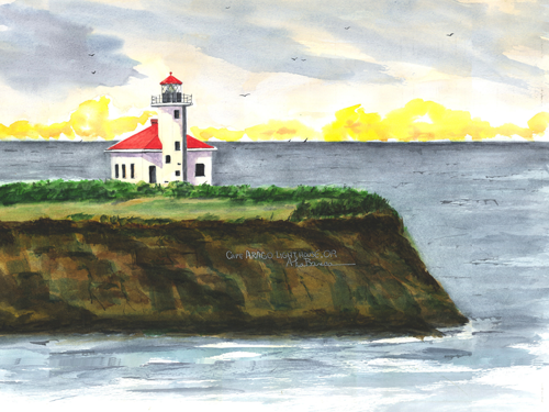 Cape Arago Light, OR