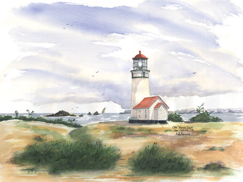 Cape Blanco Light, OR