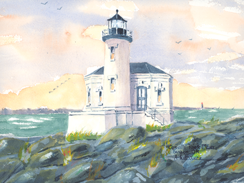 Coquille River Light A, OR