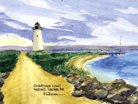Edgartown Harbor Light A, MA
