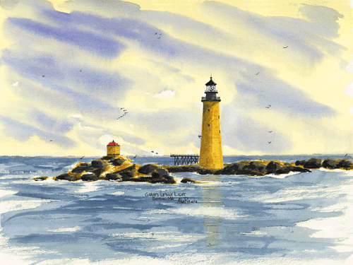 Graves Ledge Light, MA