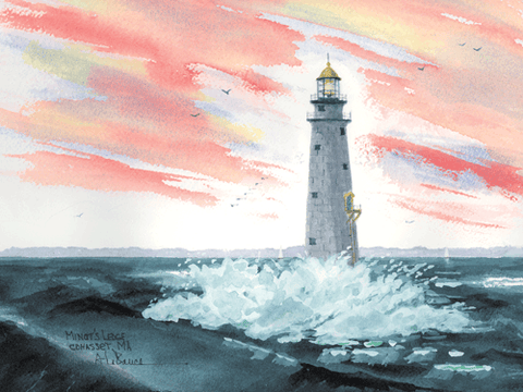 Minot's Ledge Light, MA