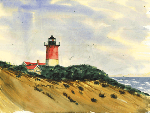 Nauset Beach Light, MA