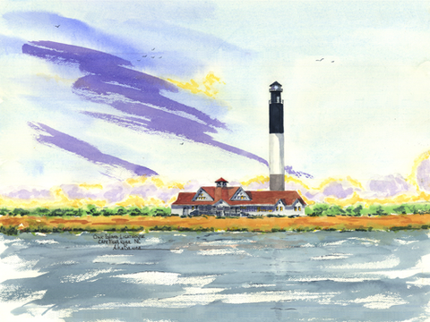 Oak Island Light, NC