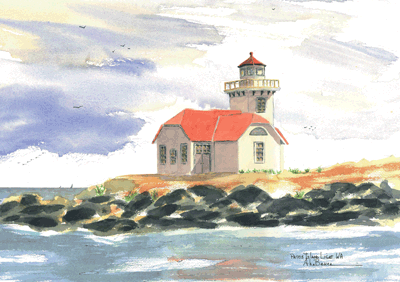 Patos Island Lighthouse A, WA