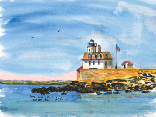 Rose Island Light,  RI