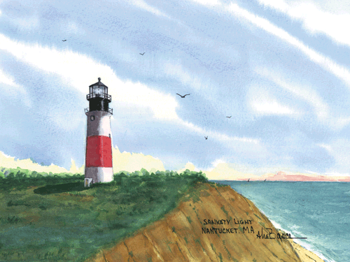 Sankaty Light, MA