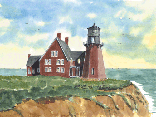 Southeast Light B, RI