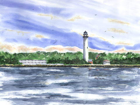 St. Simons Island Light, GA