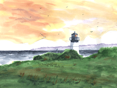 Ten Pound Island Light, MA
