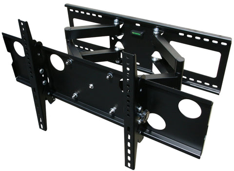 Articulating Full Motion Dual Arm Wall Mount - Medium & Large Rain Case Enclosure Models