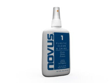 NOVUS PC-10 Plastic Clean & Shine - 8 oz.