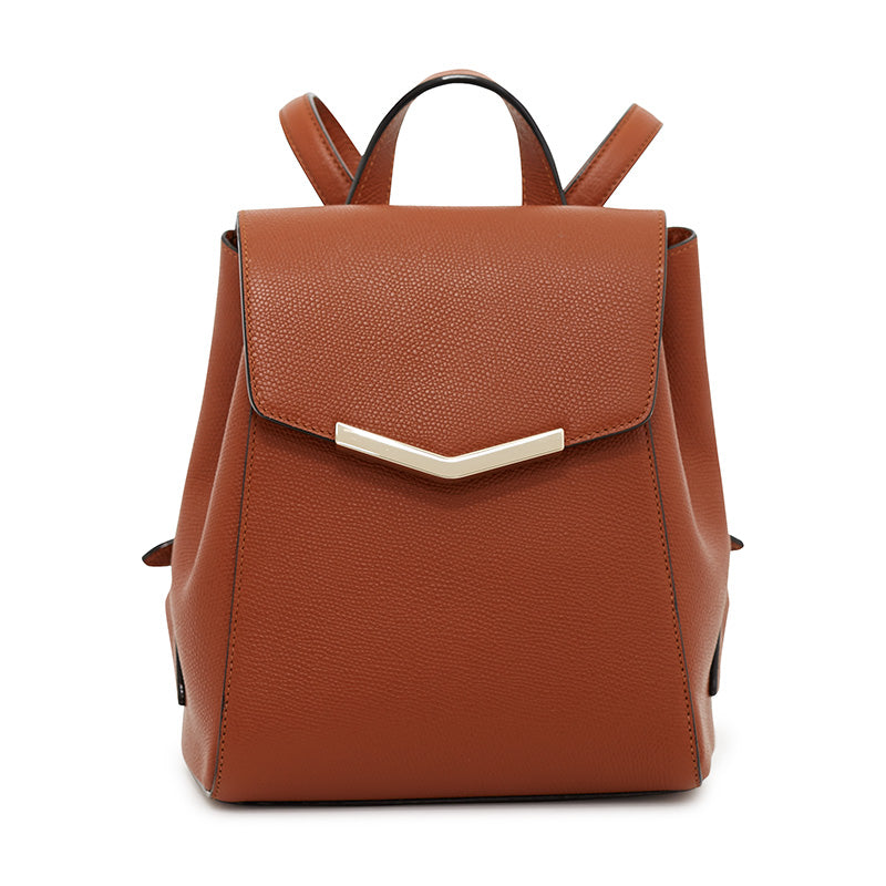 Harper Mini Backpack in Rodeo Rust