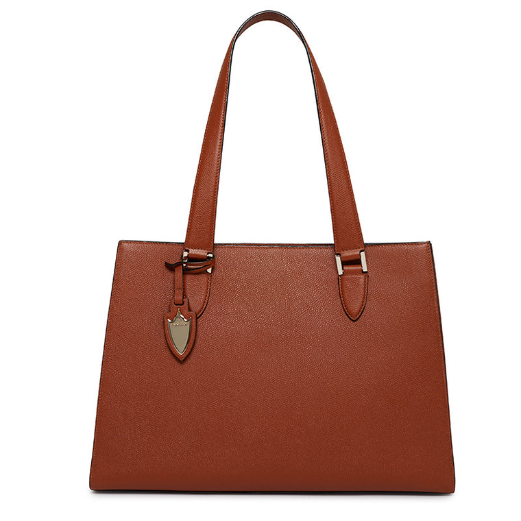 Tyler Tote in Rodeo Rust