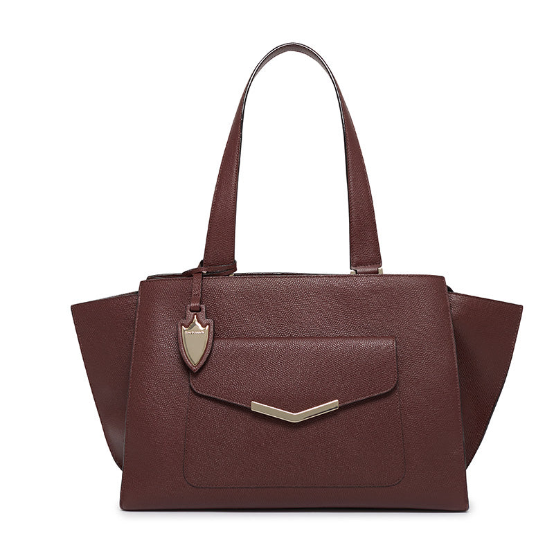 Chloe Tote in Wine In Williamsburg