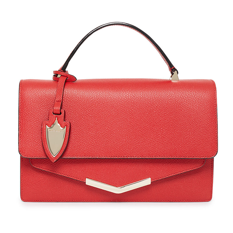 Madison Crossbody in Cherry Red